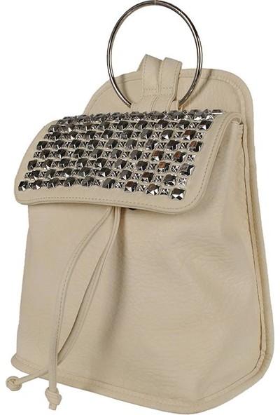 Sergio Giorgianni Luxury SG39-001 Beyaz Kadın Sırt Çantası