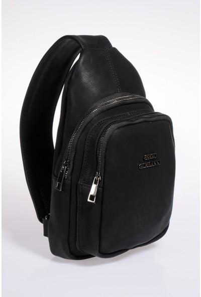 Sergio Giorgianni Luxury SG25032019 Siyah Kadın Sırt Çantası