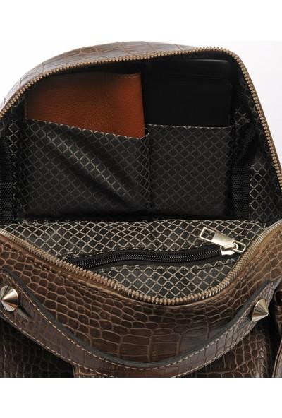 Sergio Giorgianni Luxury SG1082019-3 Vizon Kadın Sırt Çantası