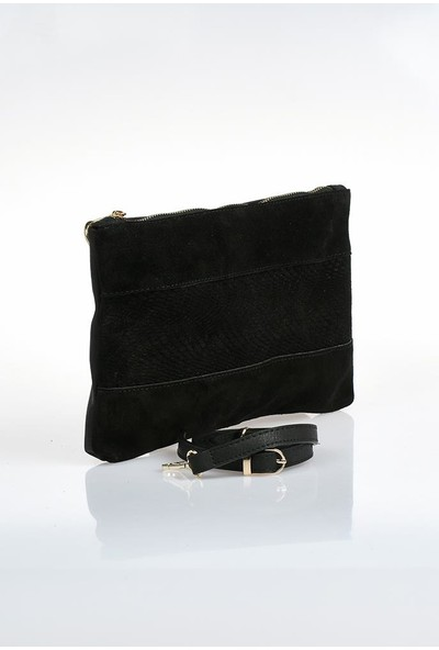 Sergio Giorgianni Luxury SGZD3577 Siyah Laz.süet Kadın Portföy