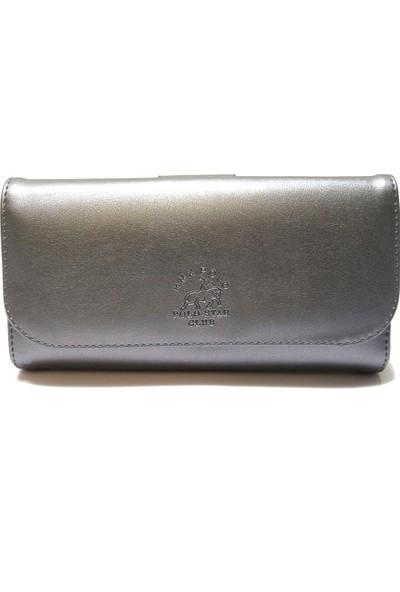 Hmx Polo Cüzdan Gümüş