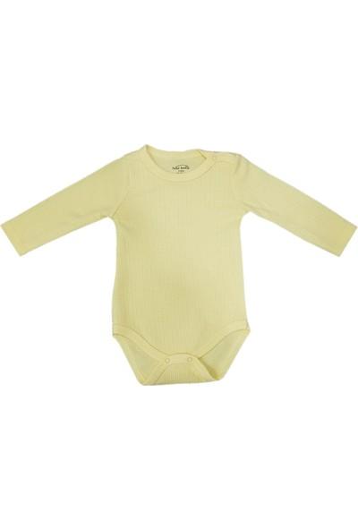 Fuar Unisex Bebek Uzun Kol Çıtçıtlı Badi - Zıbın