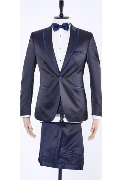Dufy Mıcro Erkek Takım Elbise - Slim Fit