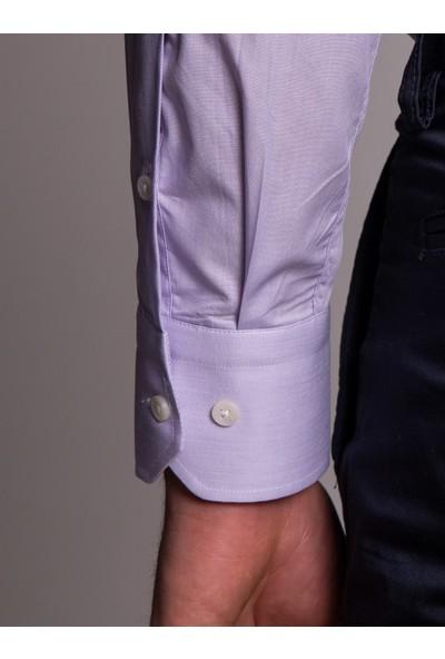 Dufy Erkek Düz Gömlek Regular Fıt