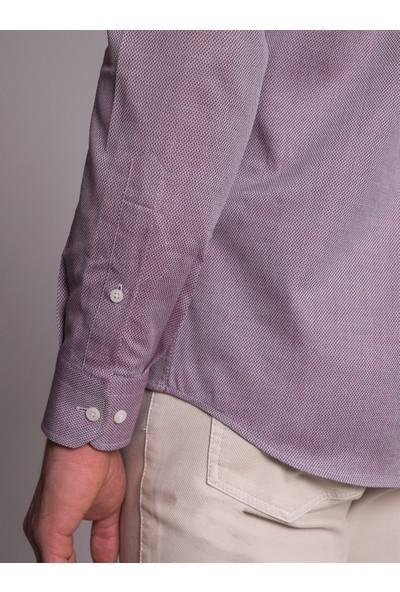 Dufy Erkek Mıcro Gömlek Slim Fit