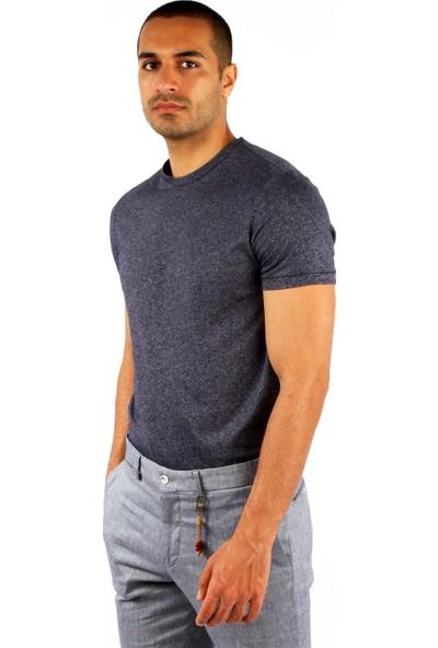 Dufy Erkek Melanj Tshirt Slim Fit