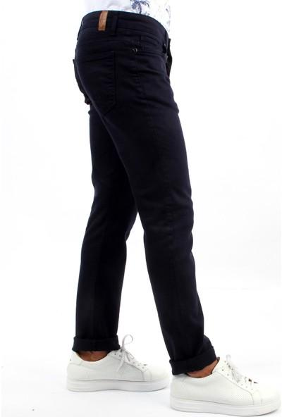 Dufy Lacivert Düz Erkek Pantolon