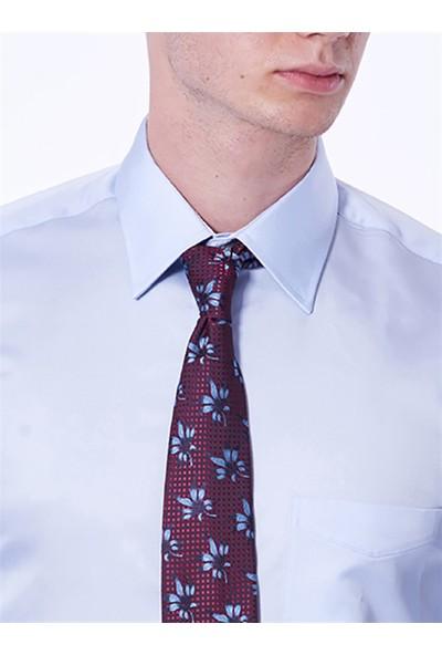 Dufy Erkek Büyük Beden Düz Gömlek