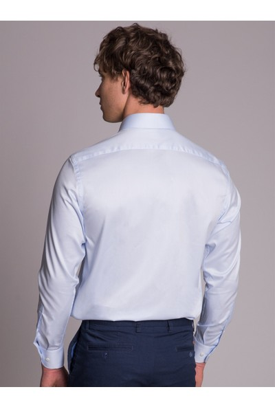Dufy Düz Erkek Gömlek - Regular Fit