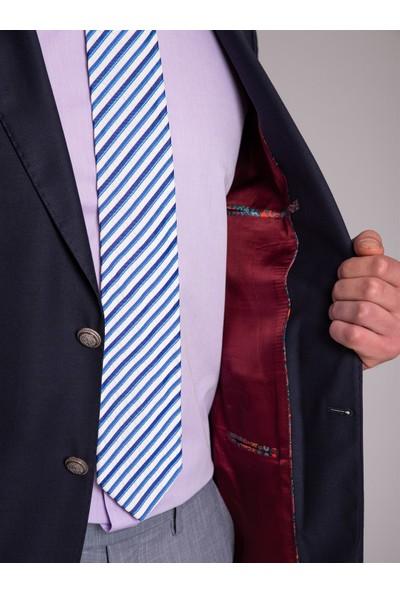 Dufy Erkek Düz Ceket Regular Fıt