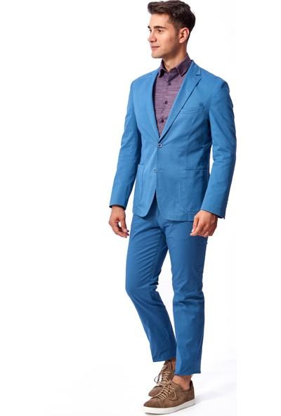 Dufy Düz Erkek Ceket - Regular Fit