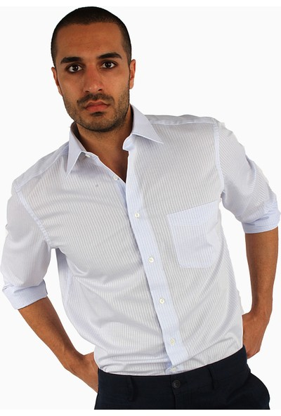 Dufy Erkek Büyük Beden Armür Gömlek