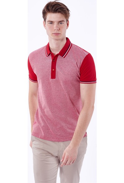 Dufy Düz Detay Erkek T-Shirt - Slim Fit