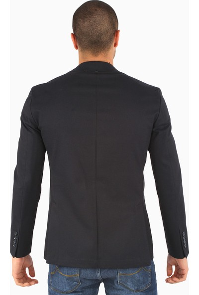 Dufy Erkek Düz Model Ceket Slim Fit