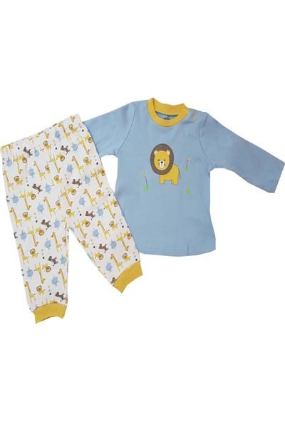 Mother Love Ediz Erkek Bebek Pijama Takımı