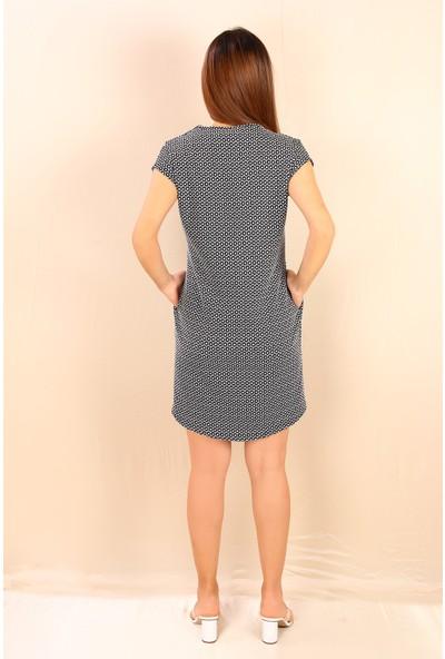 Alexandergardı Caplı, Salaş Mini Elbise, Siyah-Beyaz (19BYN48708)