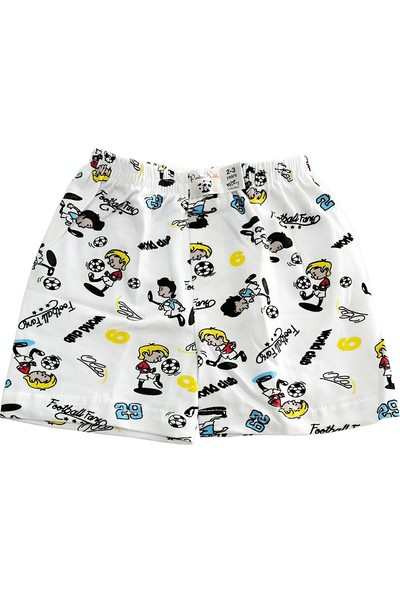 Panda Kiddo Erkek Çocuk Desenli Boxer