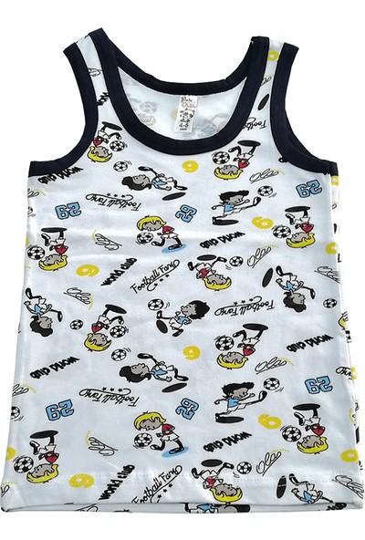 Panda Kiddo Erkek Çocuk Desenli Atlet