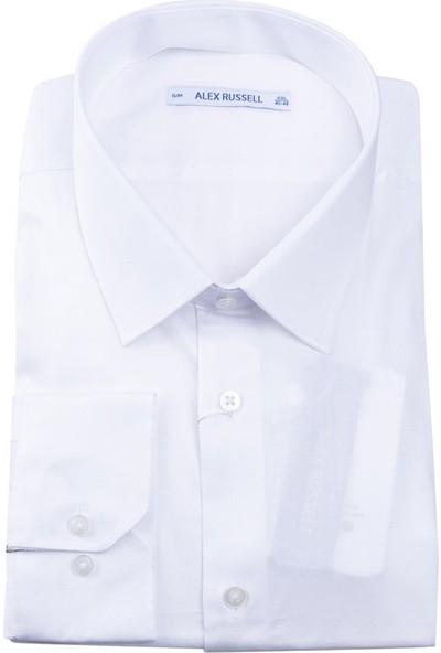 Giantport Alex Erkek Gömlek Beyaz