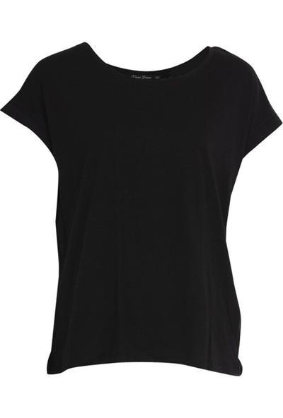 Vena 29237 Kadın T-Shirt Siyah