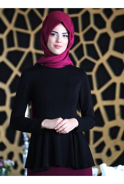 Nurkombin Şimal Bluz Siyah