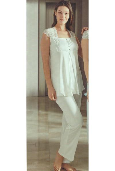 Bone Club 4708 Kadın Lohusa Pijama Takım