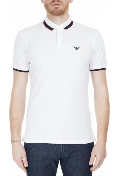 Emporio Armani Regular Fit Polo T-Shirt Erkek Polo S 6G1Fa5 1J46Z 0100