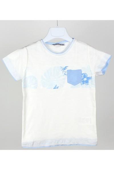 Jack Lions Erkek Bebek Baskılı T-Shirt