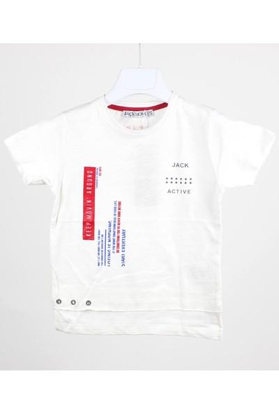 Jack Lions Erkek Çocuk Baskılı T-Shirt
