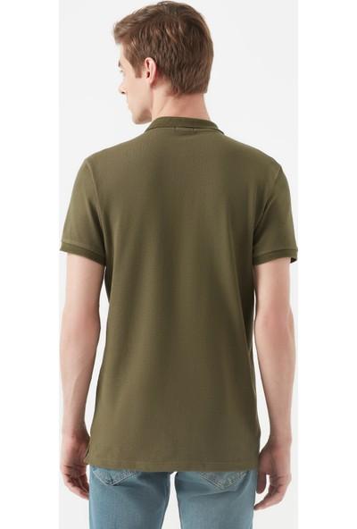 Mavi Erkek Koyu Yeşil Polo T-Shirt