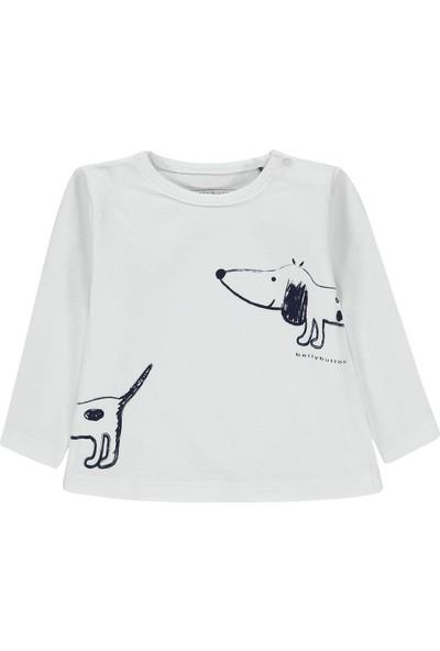 Bellybutton 208-2043 Organik Kız Bebek T-Shirt