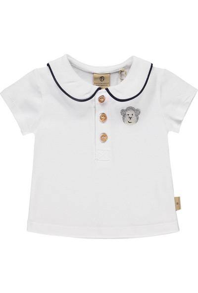 Bellybutton Mn&Me 208-5901 Organik Kız Bebek T-Shirt