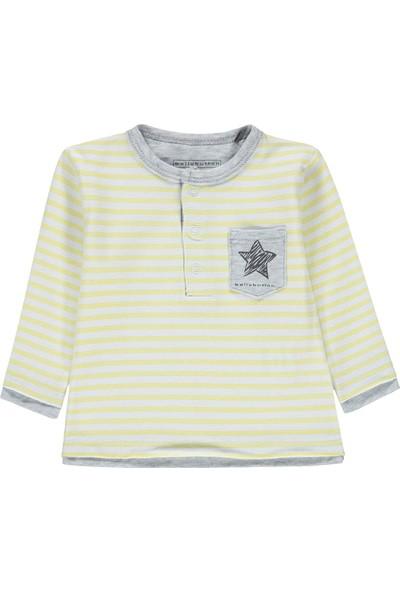Bellybutton 208-2453 Organik Erkek Bebek T-Shirt