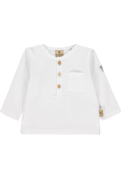 Bellybutton Mn&Me 208-5411 Organik Erkek Bebek T-Shirt