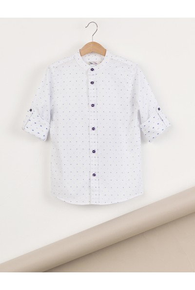Ollie&Olla Hakim Yaka Düğmeli Erkek Çocuk Gömlek
