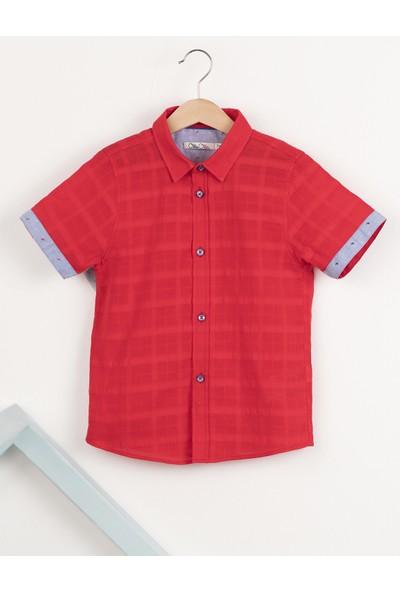 Ollie&Olla Kırmızı Erkek Çocuk Gömlek