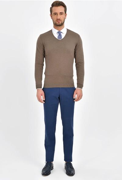 Centone Regular Fit Chino Pantolon 19-0369 Mavi 48