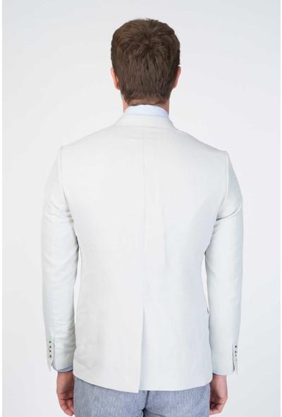 Centone Ceket Comfort Fit 6 Drop 20-0028 Bej 54