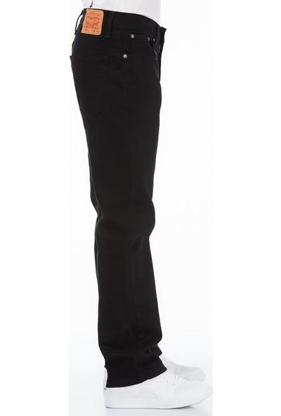 Levis 514 Erkek Straıght Siyah Kot Pantolon 00514-0730
