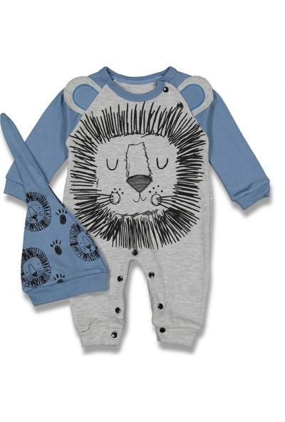 Murat Baby Aslan Baskılı Erkek Bebek Tulum