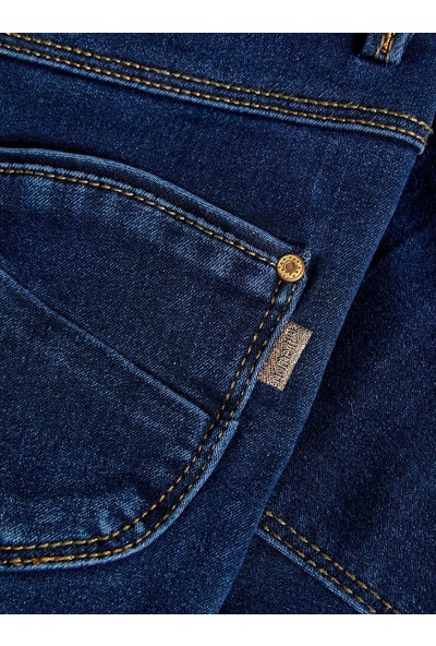 Name It Kız Çocuk Organik Pamuk Jean Pantolon