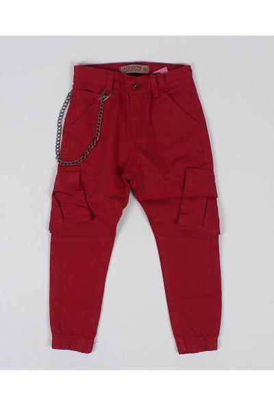 Jack Lions Erkek Çocuk Kargo Cep Zincirli Kanvas Pantolon