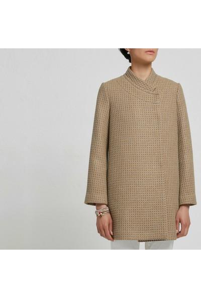 Yargıcı Kadın Panel Detaylı Palto