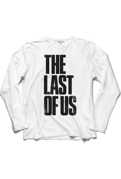 Kendim Seçtim The Last Of Us Joel Vs Elite Logo 2 Uzun Kollu Sweatshirt