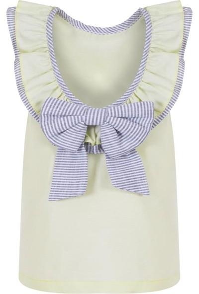 Bleu Lapin Baby Lady Bow Elbise Sarı 12 - 18 Ay