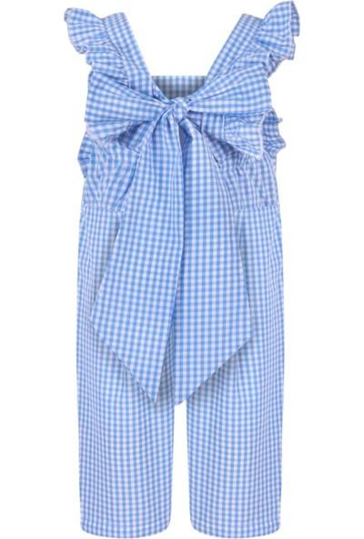 Bleu Lapin Baby Lisa Tulum Mavi - Beyaz 12 - 18 Ay