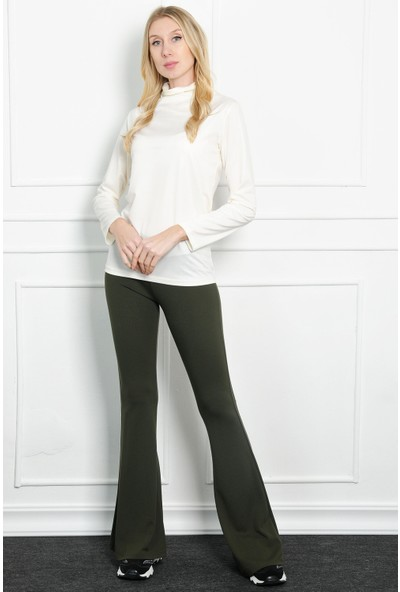 Pinkmark Kadın Haki Pantolon