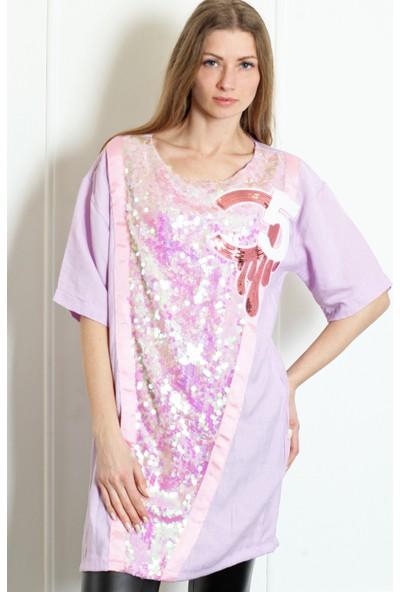 Pinkmark Kadın Mor Tunik