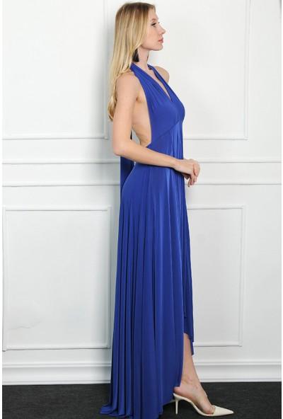 Pinkmark Kadın Saks Elbise