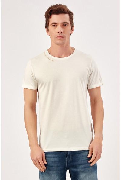 Manche Ekru Erkek T-Shirt Me20S214497